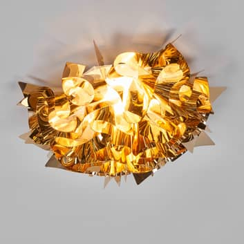 Slamp Veli Medium designer-loftlampe Ø 53cm guld