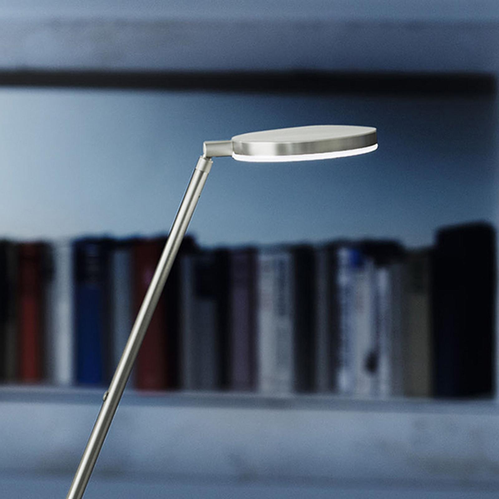 Produktové foto Holtkötter Holtkötter Plano S - stojací lampa LED, platina