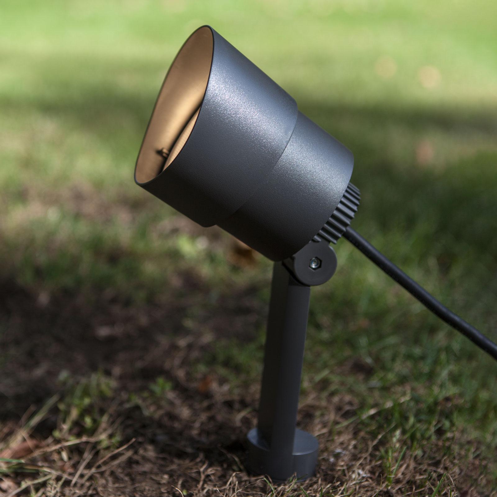 WiZ LED-lampe med jordspyd Explorer