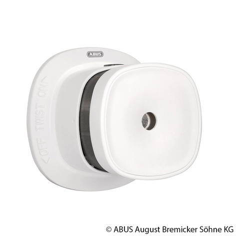 ABUS Z-Wave detector de humo inalámbrico