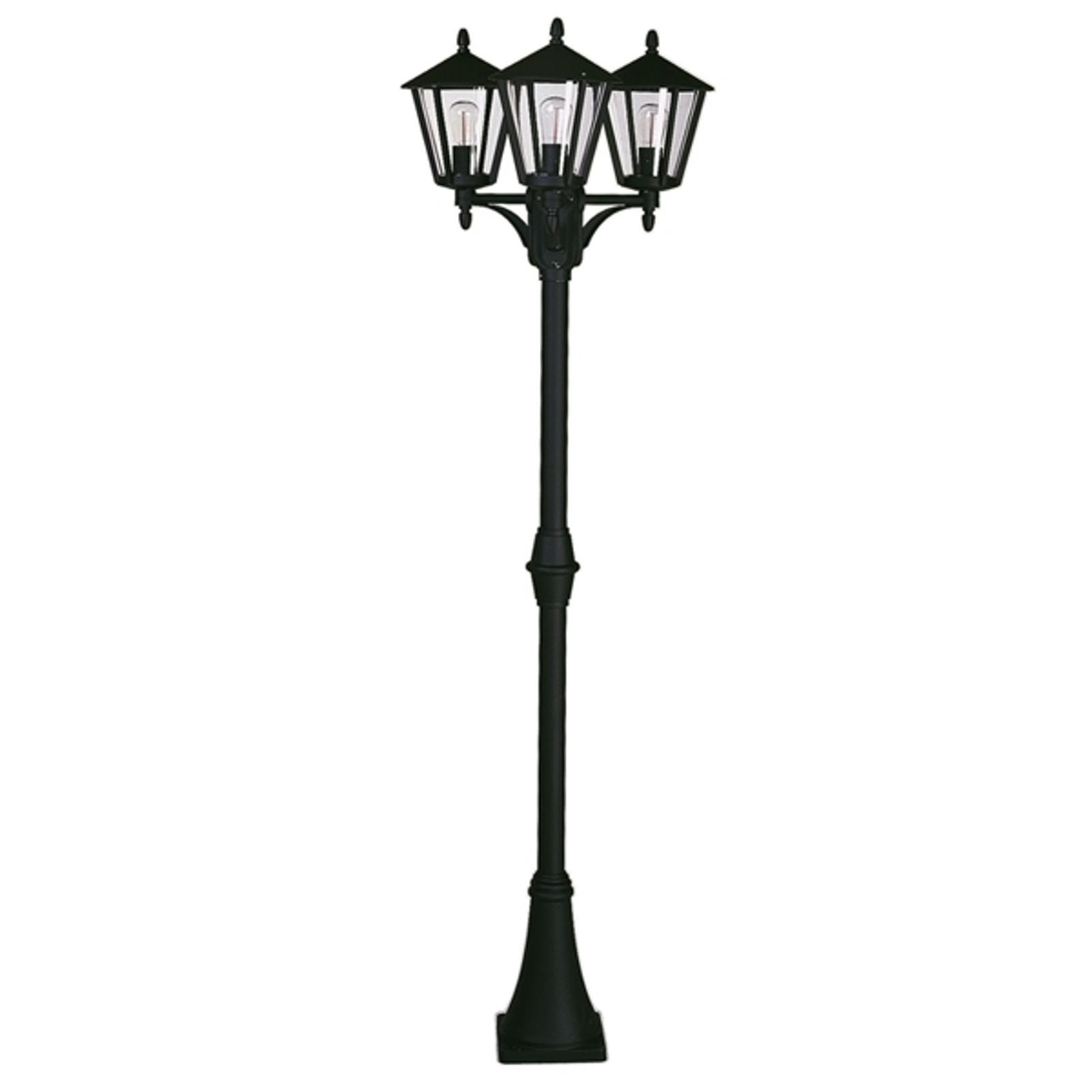 3-lichts Landhaus lantaarnpaal 680 S