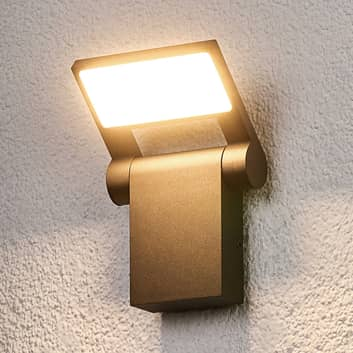 Aplique LED para exterior Marius orientable