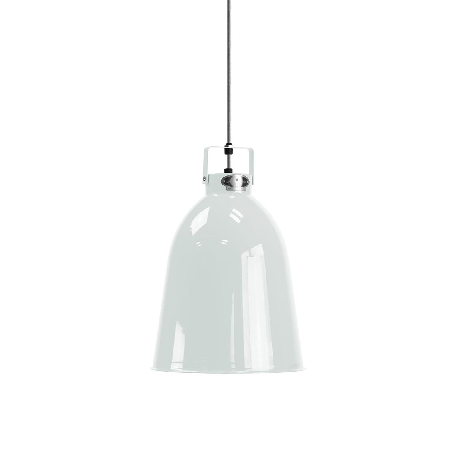 Jieldé Clément C240 hanglamp wit glans Ø24cm