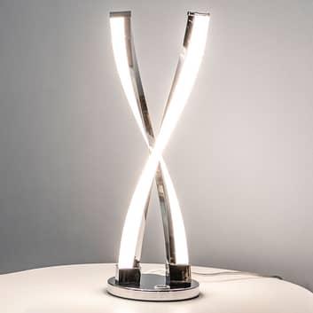 LED-bordslampa Idana, dimbar