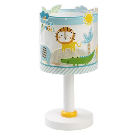 Lampa stołowa Little Jungle, fluorescencyjna