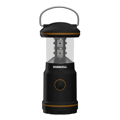 Duracell LED-campinglampe LNT-10