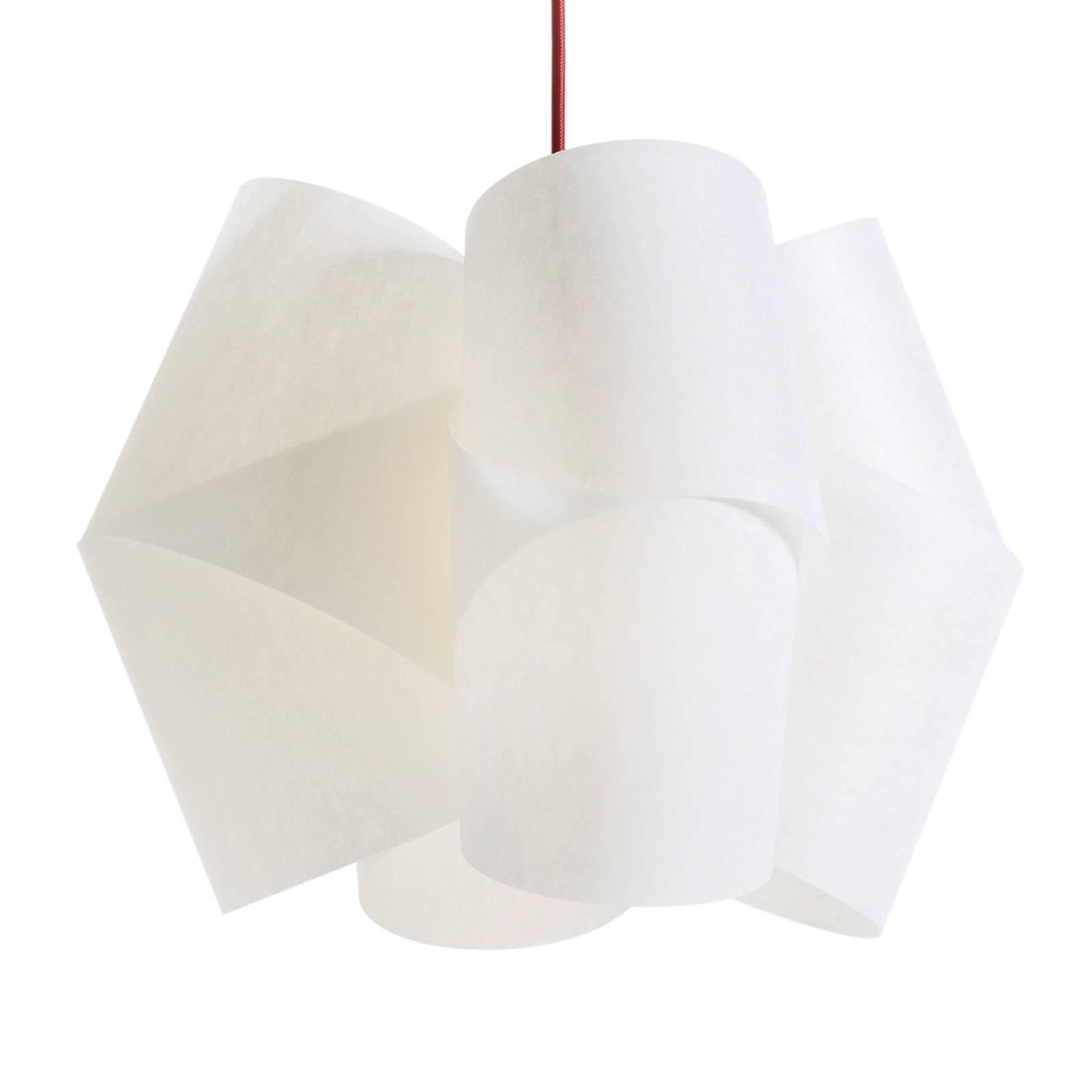Ekskluzywna lampa wisząca Julii czerwona 54