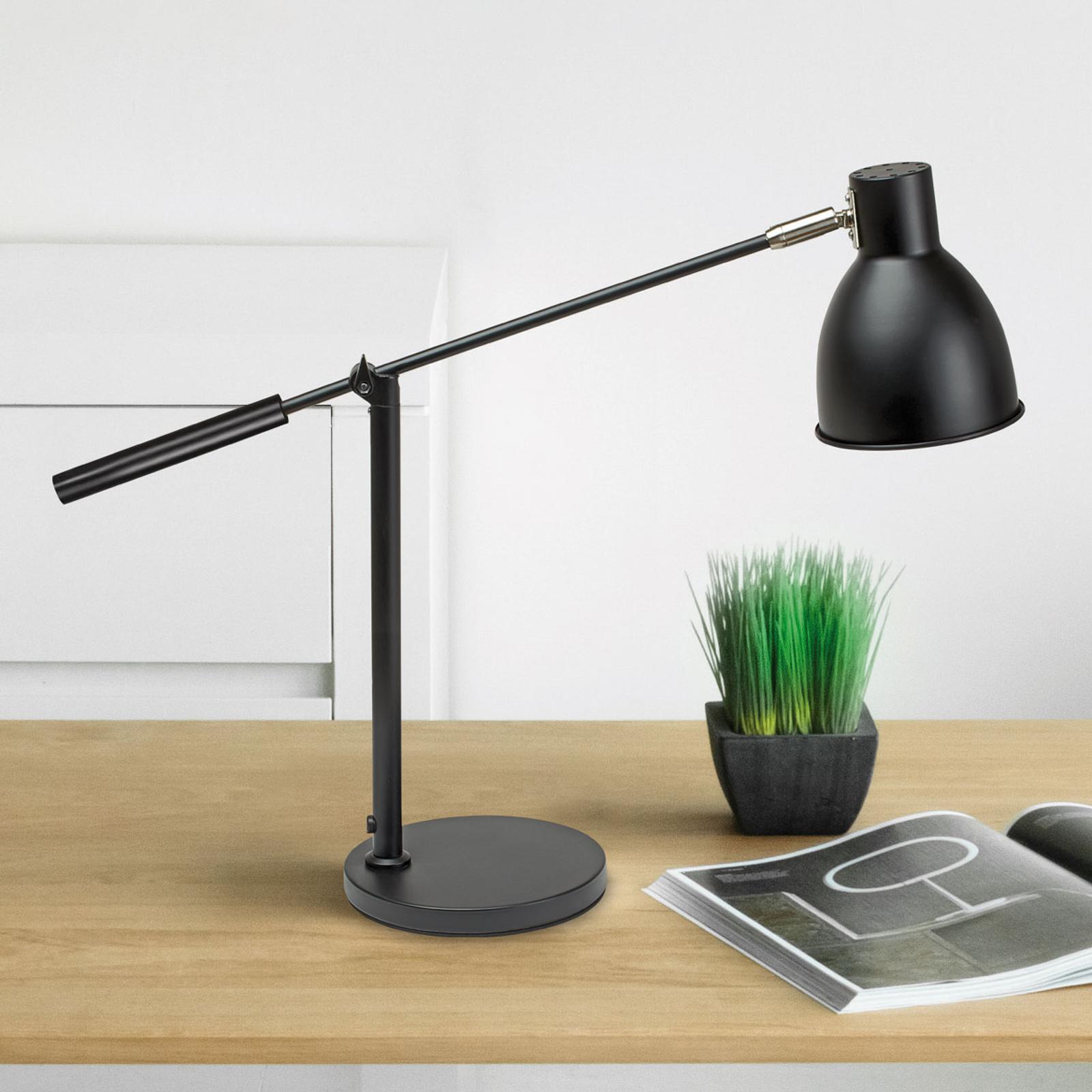 Lampa stołowa MAULfinja w matowej czerni