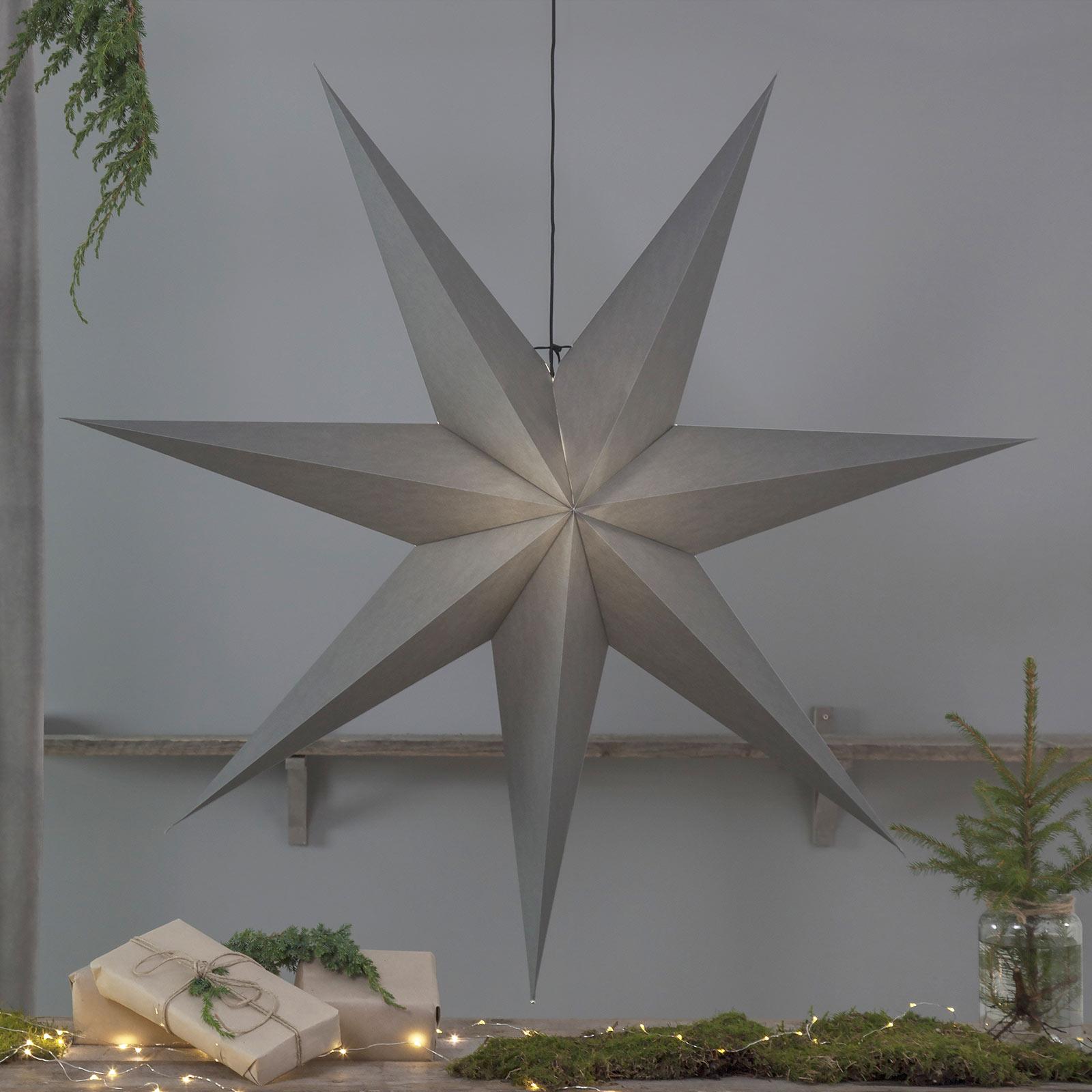 Ozen papirstjerne med syv takker