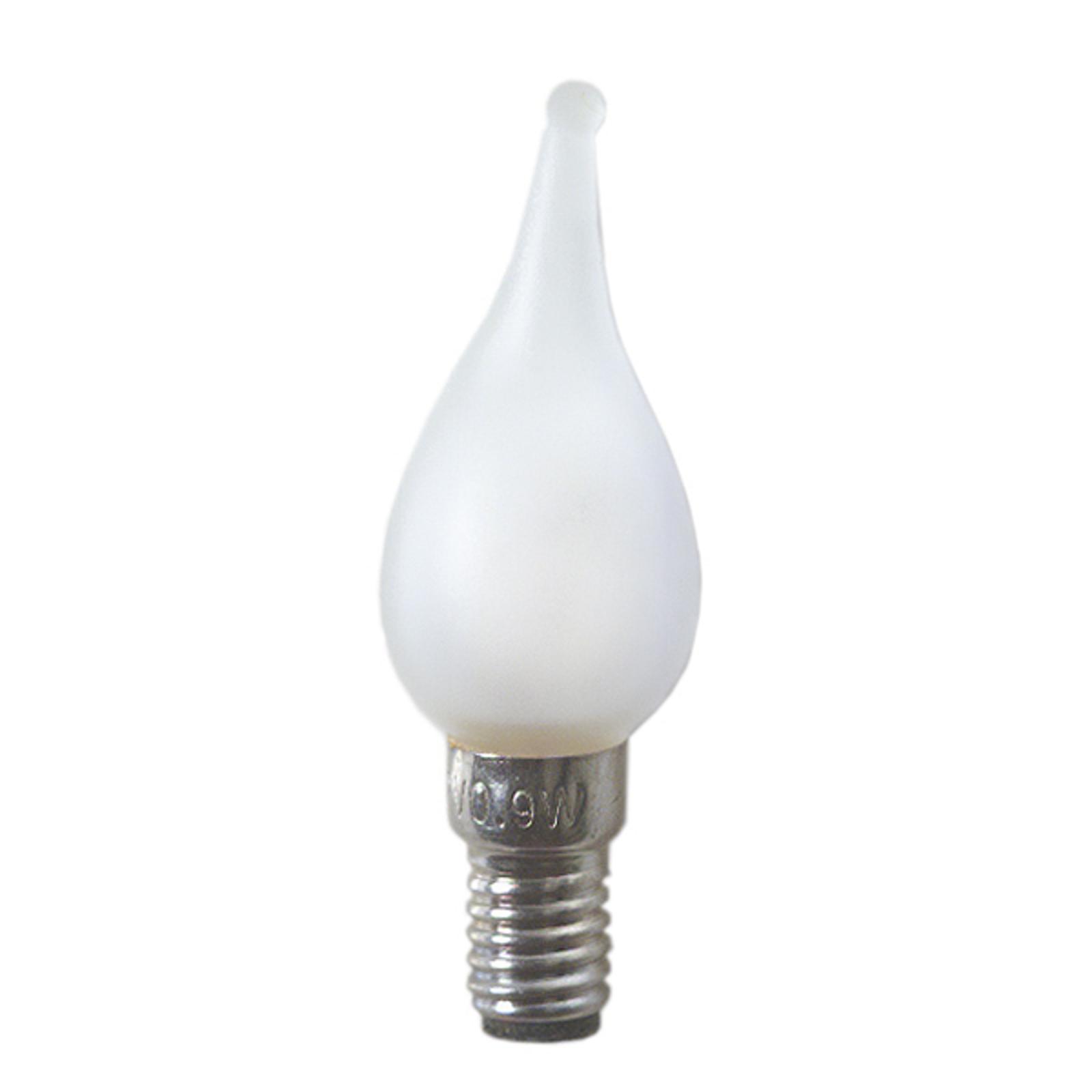 E6 0,9W 12V varalamput NV-ikkunakynttelikköön 3kpl