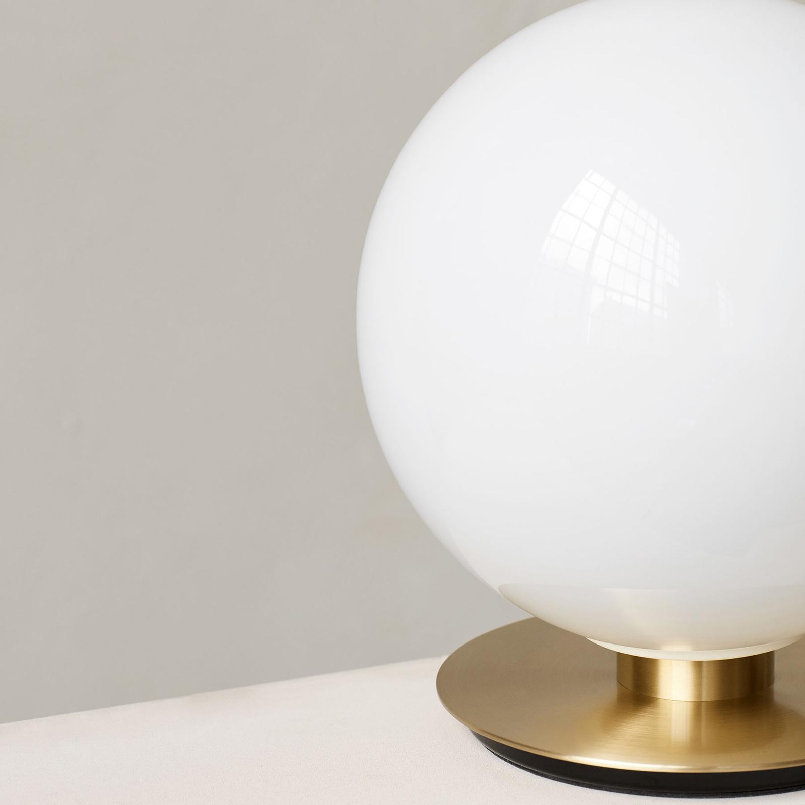Menu TR Bulb DTW Tischlampe 22cm Messing/opalglanz