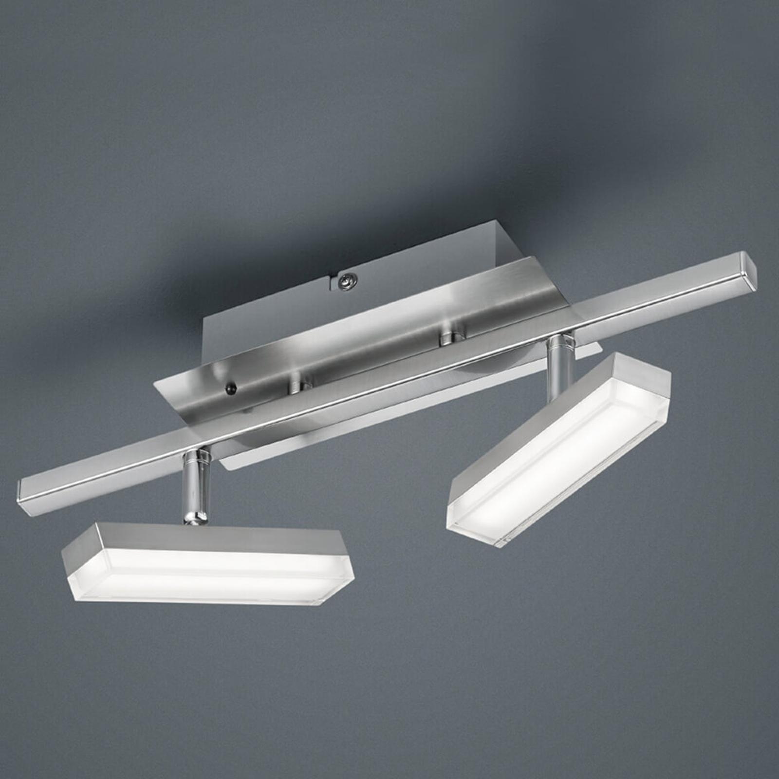RGB-LED plafondlamp Bondy 2-lamps