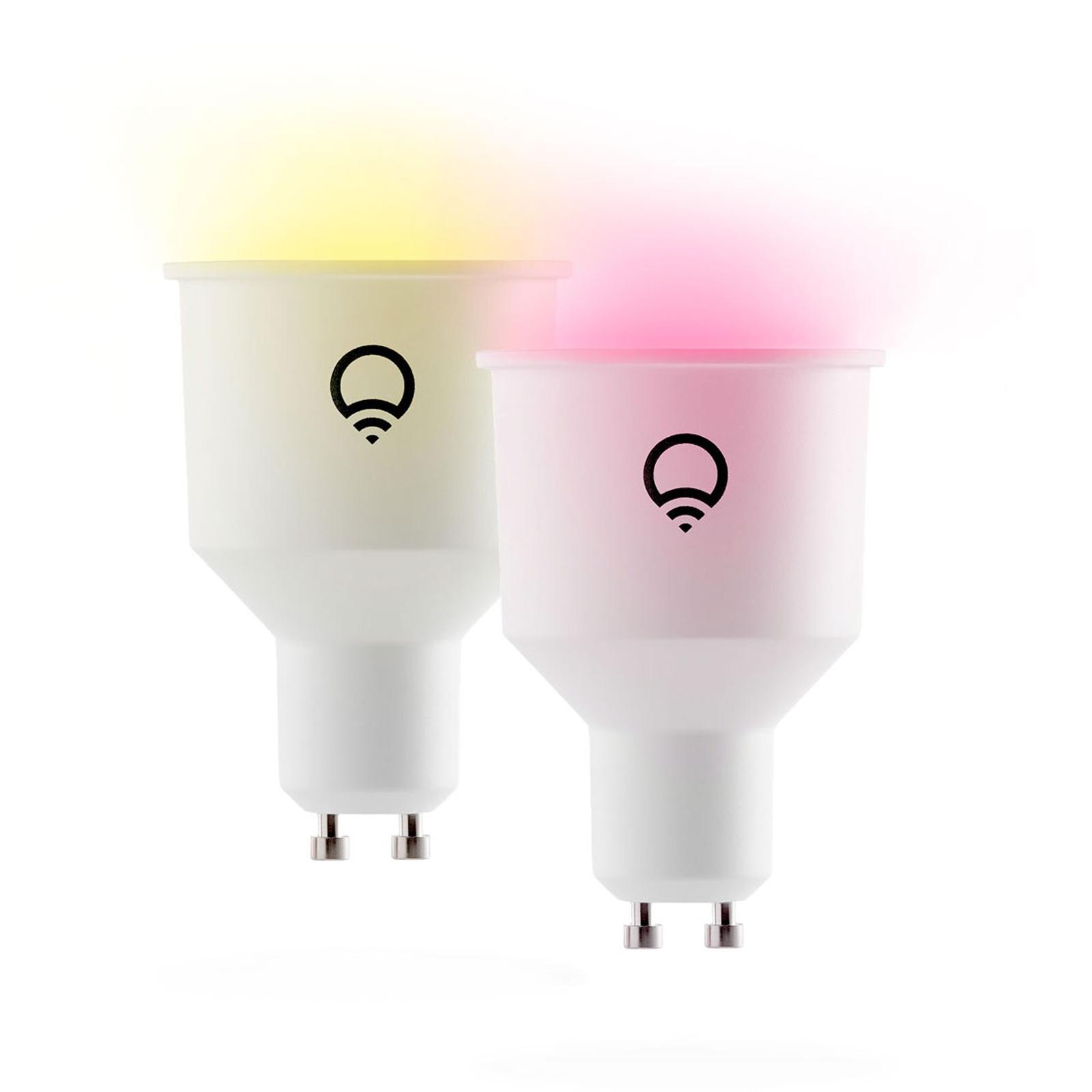 LIFX Color GU10 6W RGB 1500-9000K WLAN 2erPack