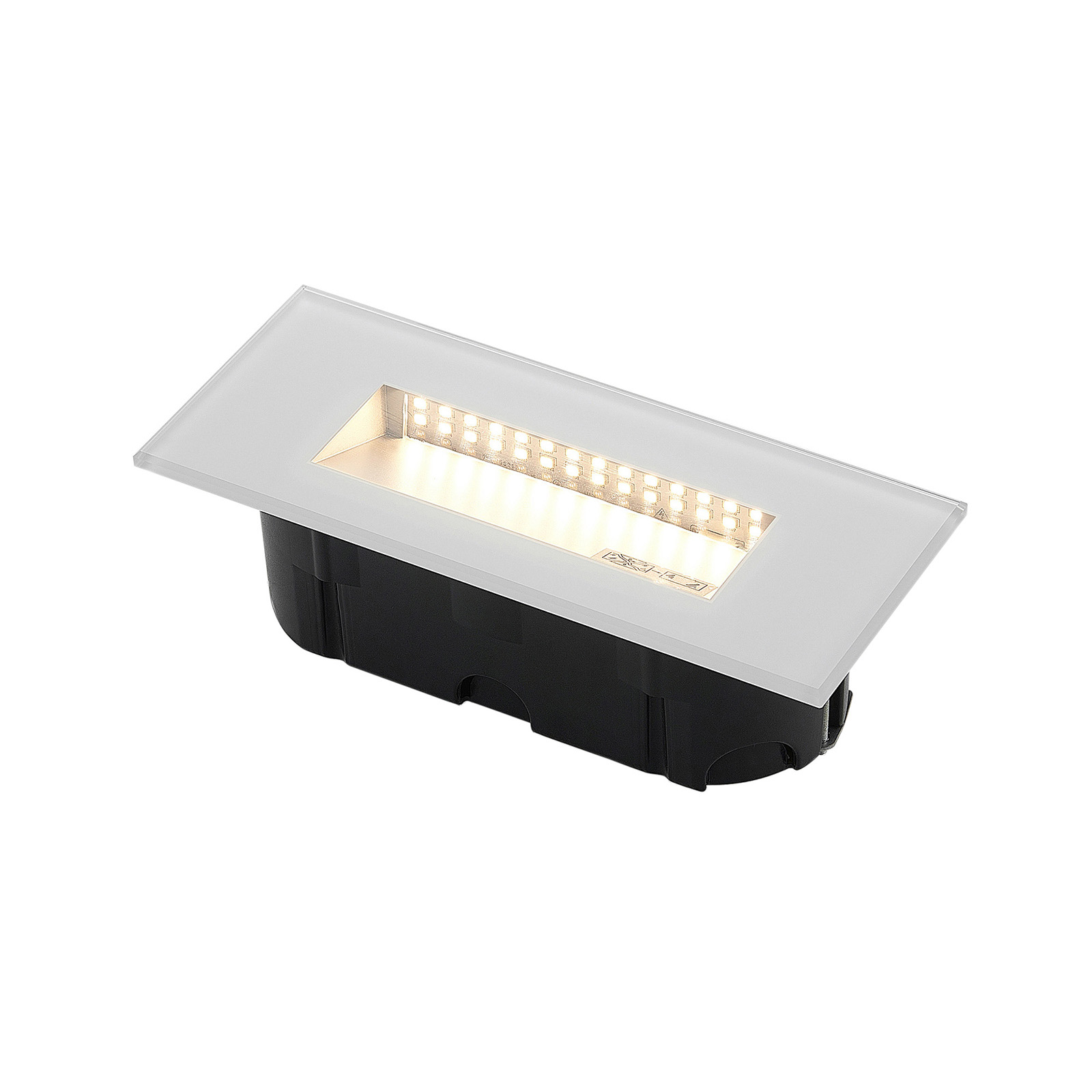 LED innfelt vegglampeJody, 19 cm | Lampegiganten.no