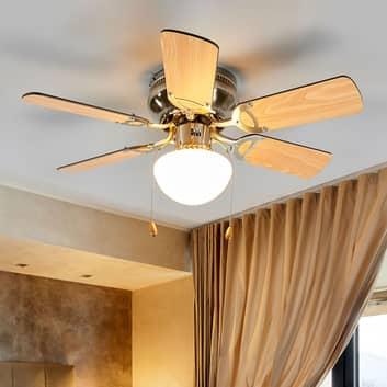 Ventilador de techo Flavio 6 palas, con luz