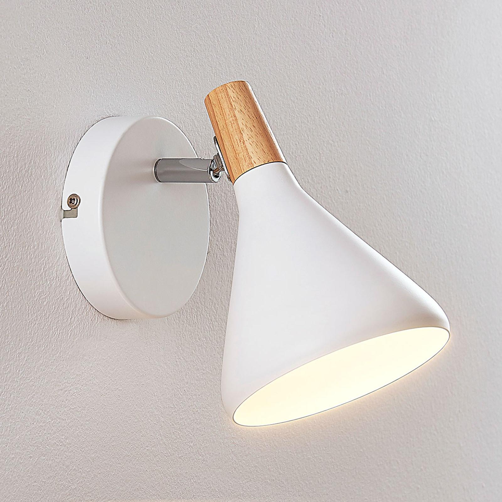 LED-Wandleuchte Arina in Weiß, 1-flammig