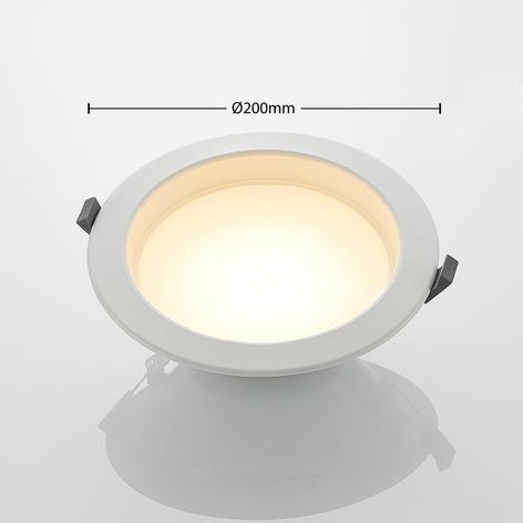 Piet - LED indbygningslampe 17,5W, 3 lysfarver