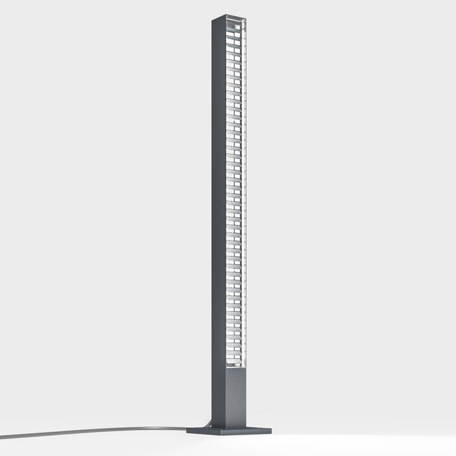 IP44.de lin base słupek ogrodowy LED, antracytowy
