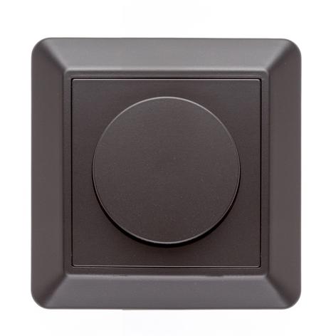 SLC copertura SmartOne AC dimmer a parete, nero