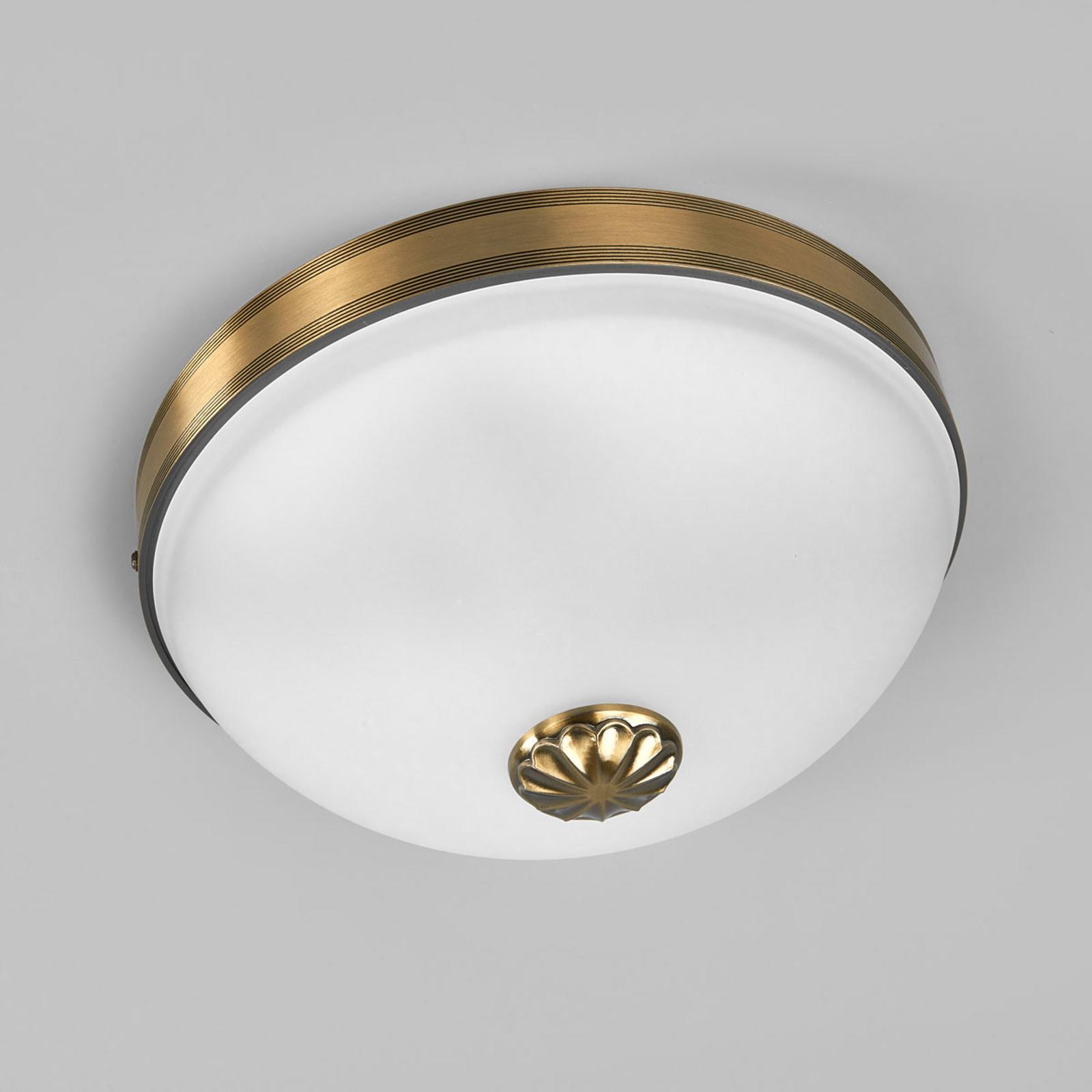 Smuk Impery loftlampe i antik stil