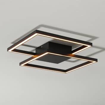 LED plafondlamp Falcon, zwart