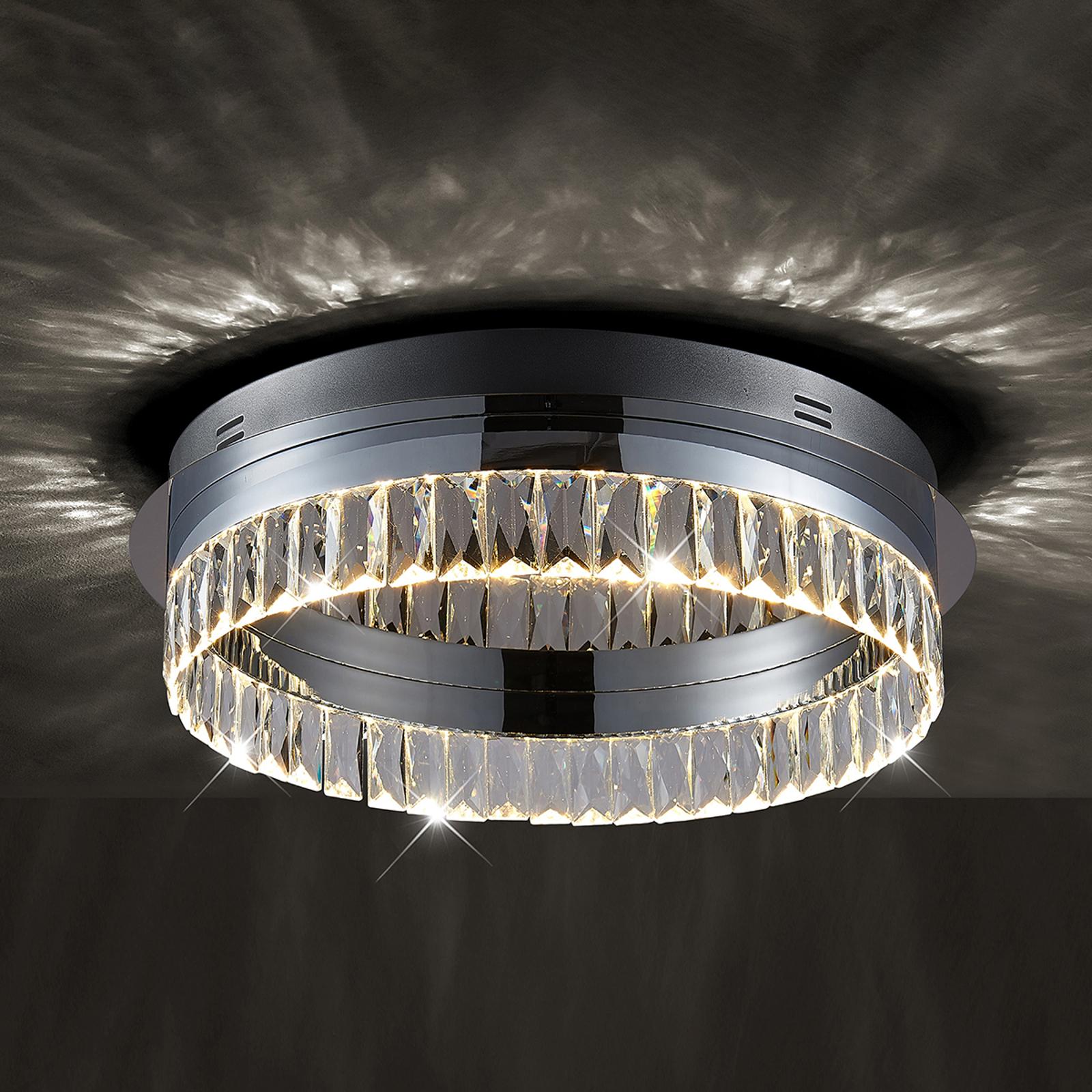 Plafonnier LED Carmi dimmable par interrupteur