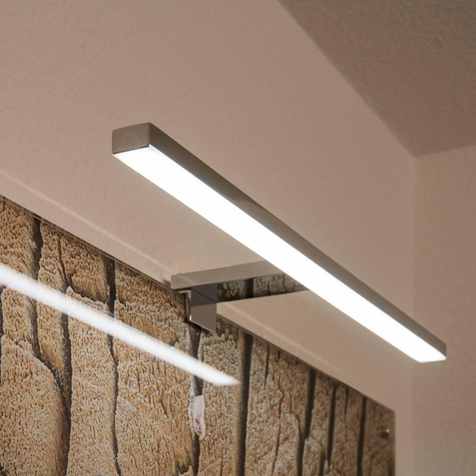 SLV Dorisa applique pince LED largeur 50cm chromée