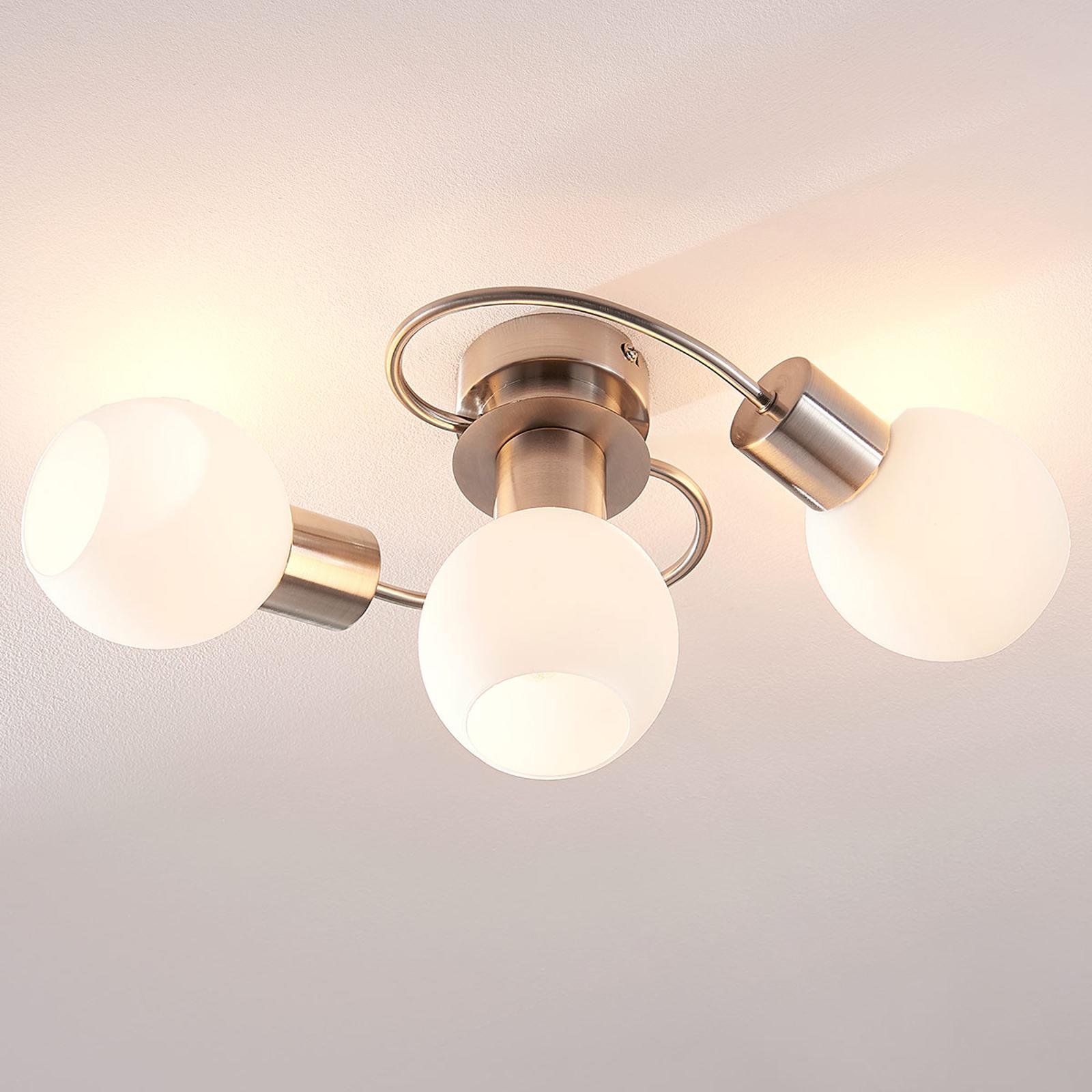 LED-Deckenleuchte Ciala, 3-flammig