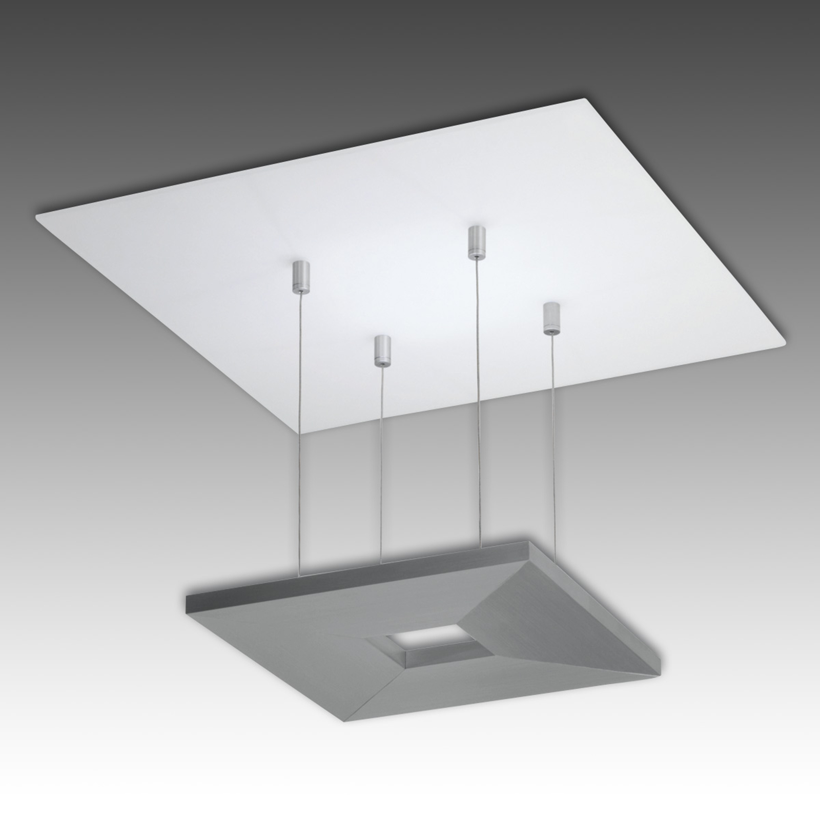 Plafonnier LED aluminium Zen Escale