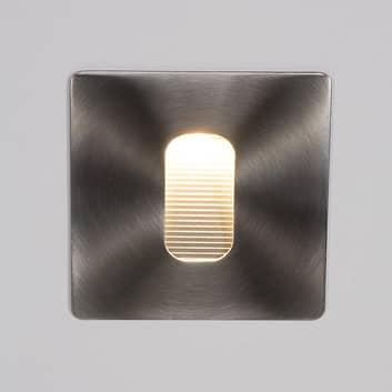 Lampada da parete Telke, angolare, con LED, IP65