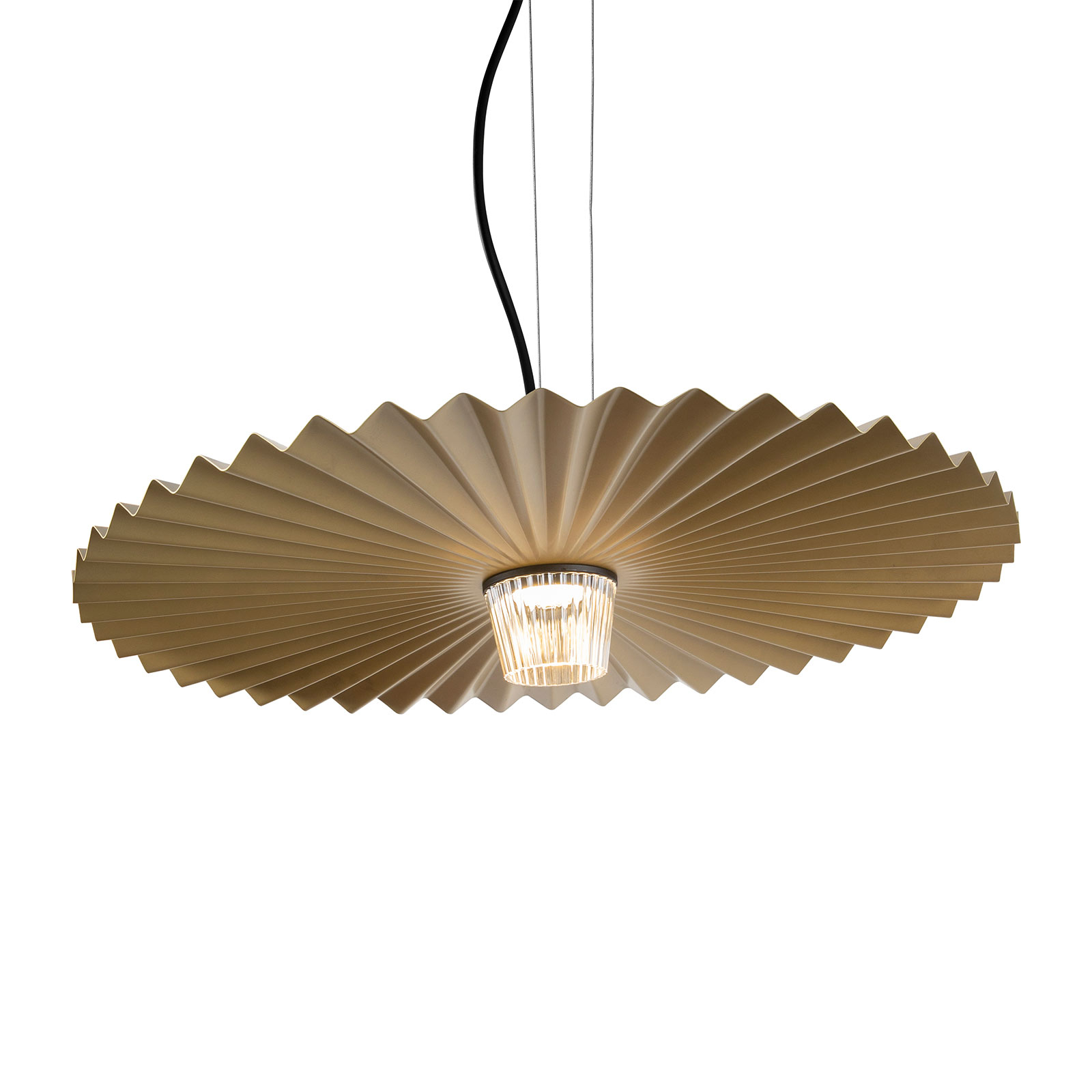 Karman Gonzaga LED hanglamp, Ø 59 cm, messing