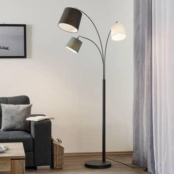 By Rydéns Foggy lampadaire avec trois abat-jour