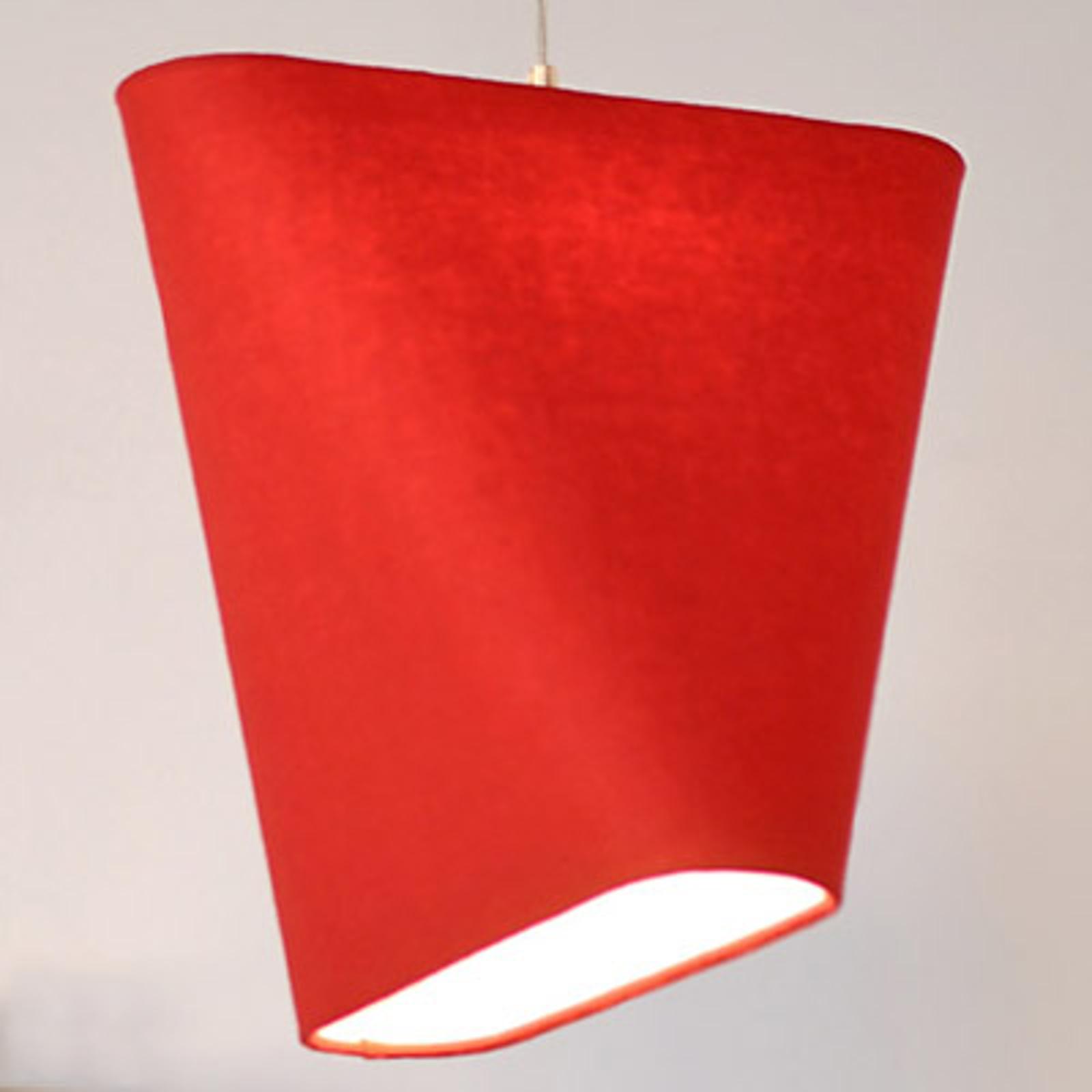 Produktové foto Innermost Innermost MnM 60 textilní závěsné světlo, červené