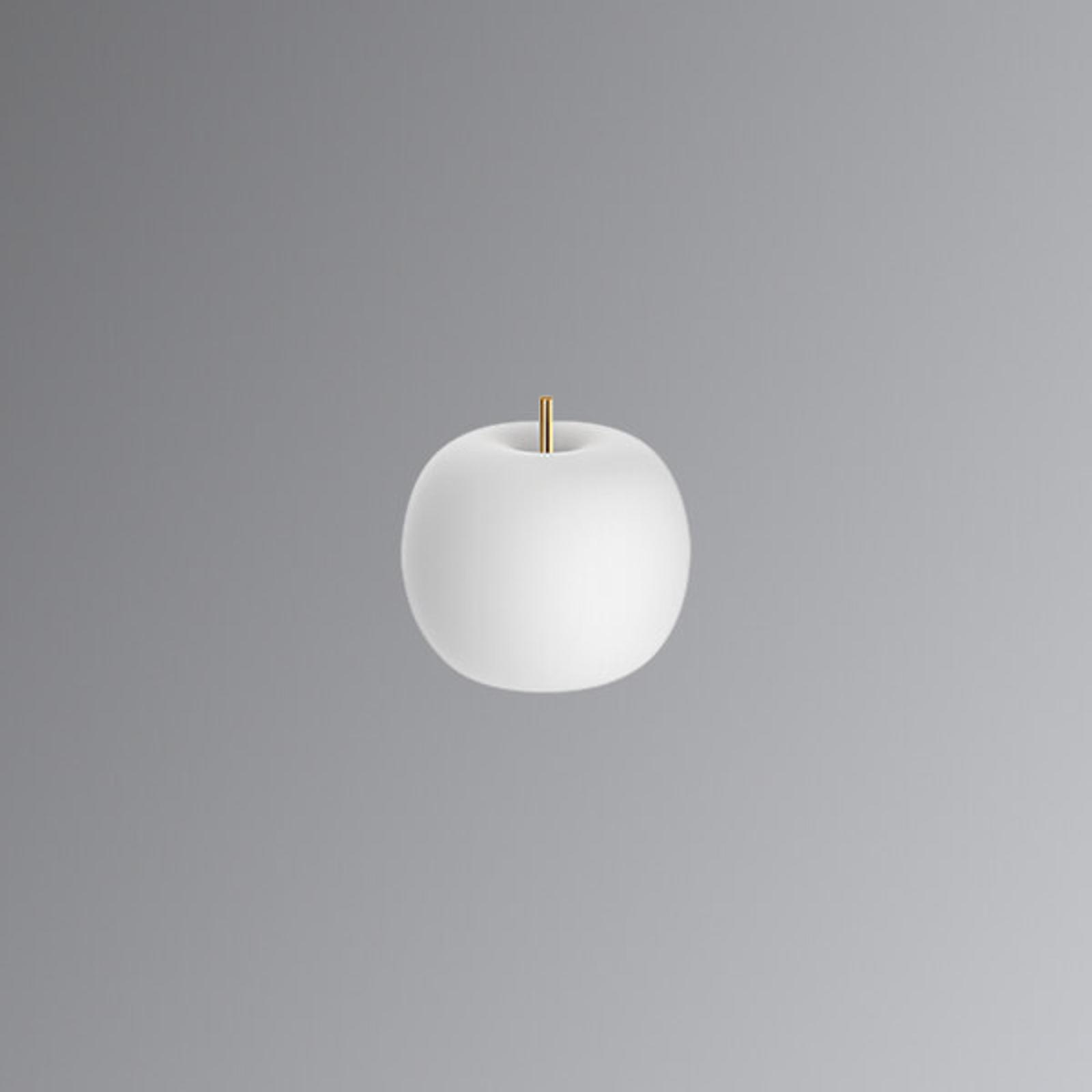 Lampada da tavolo LED in vetro Kushi, 16 cm