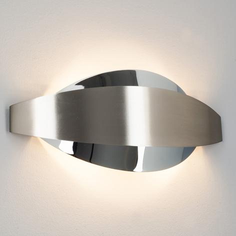 LED-Wandleuchte Lonna mit G9-LEDs chrom/nickel