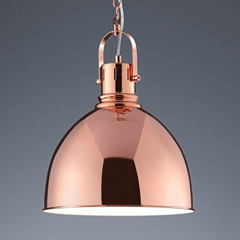 Lámpara colgante Tores en color cobre