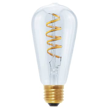 Żarówka LED Curved Line E27 6W 922, przezroczysty