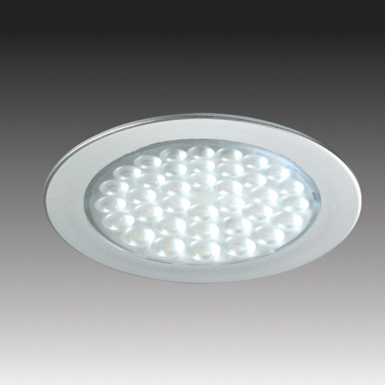 R 68 spot LED da incasso in ottica acciaio inox