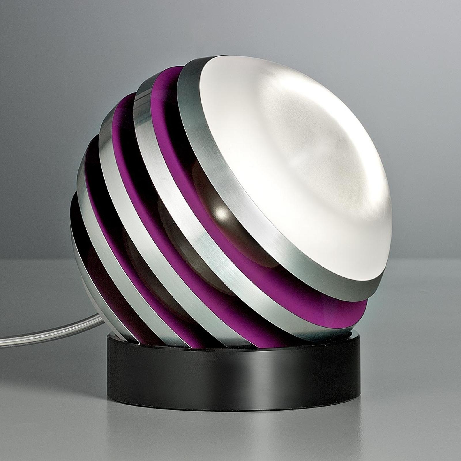 TECNOLUMEN Bulo - LED-Tischleuchte, strawberry