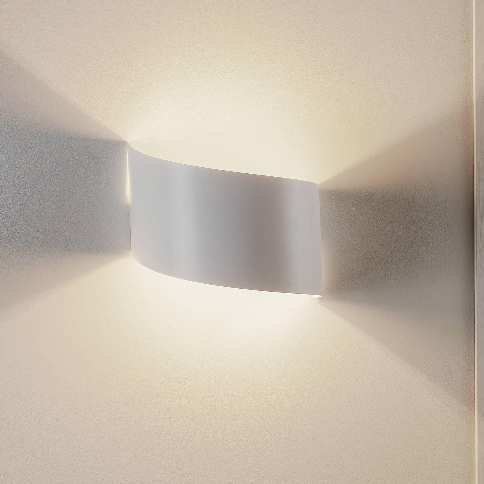 Wandlamp Vero van wit gelakt staal