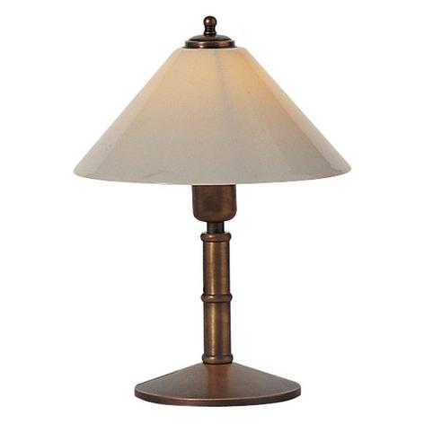 ANNO 1900 bordlampe med antik virkning