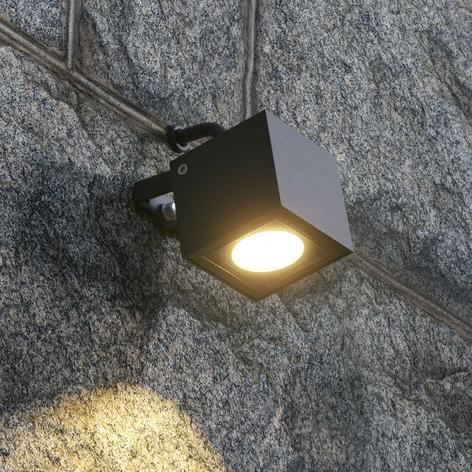 Spot LED sur piquet Mariana, gris graphite