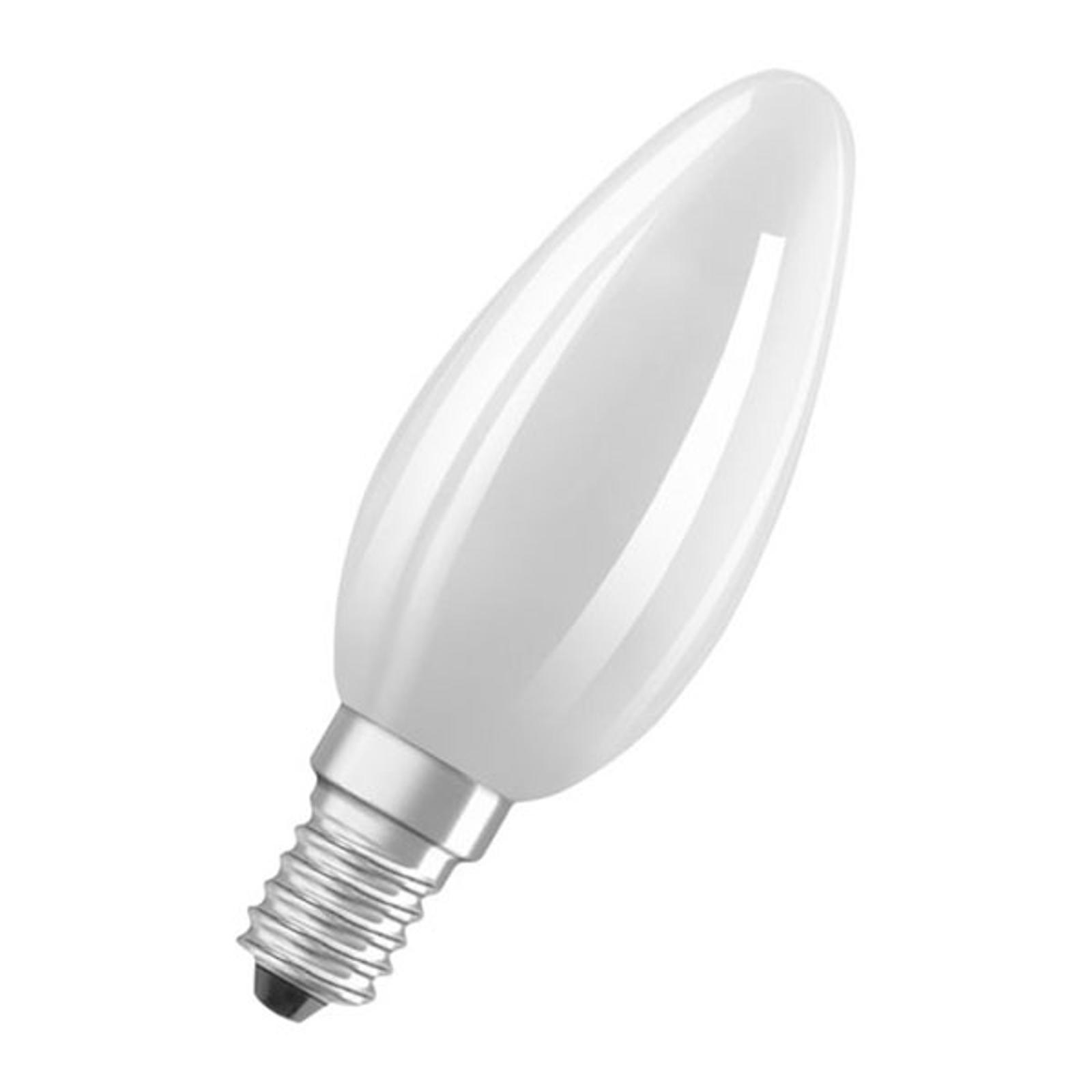 OSRAM świeca LED E14 Classic B 6W 2700K matowa