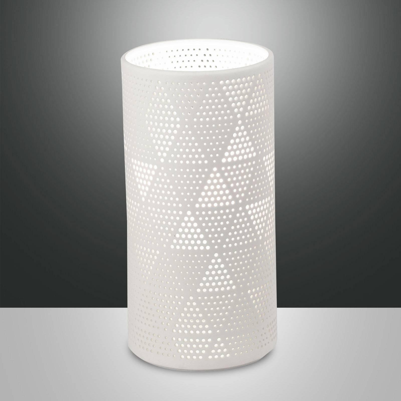 Tafellamp Micol van keramiek, hoogte 20 cm