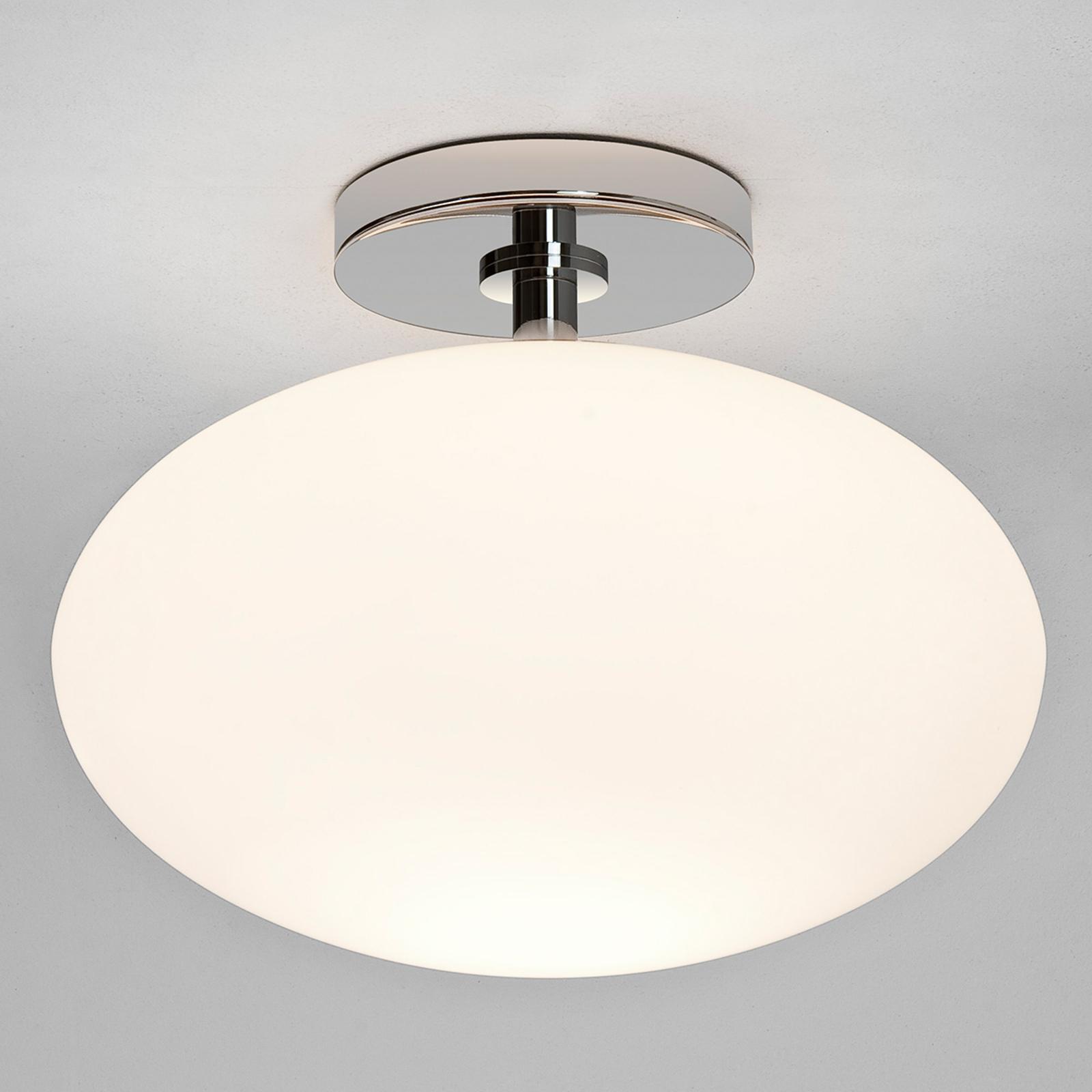 Owalna lampa sufitowa łazienkowa Zeppo