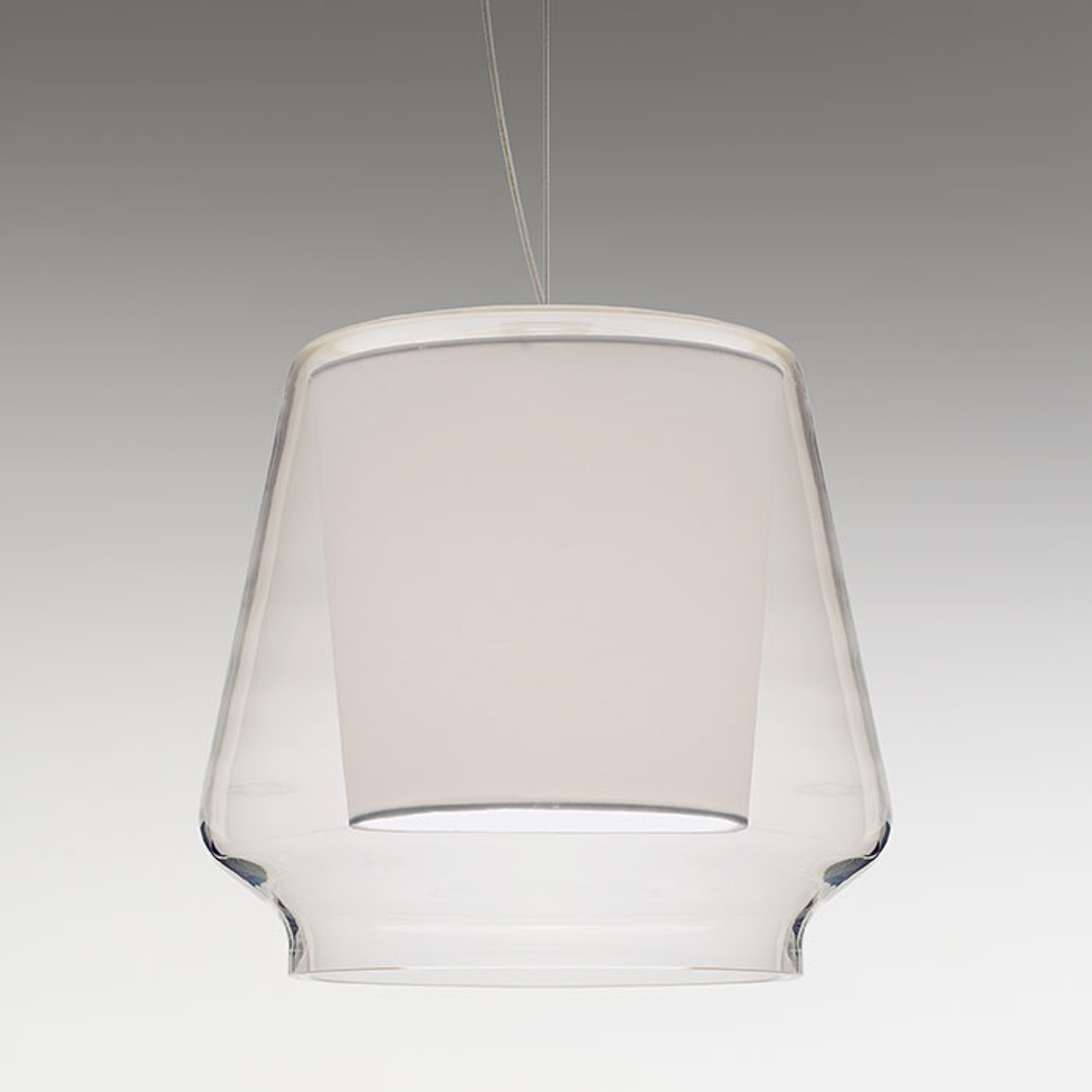 Casablanca Aleve S - belle suspension en verre