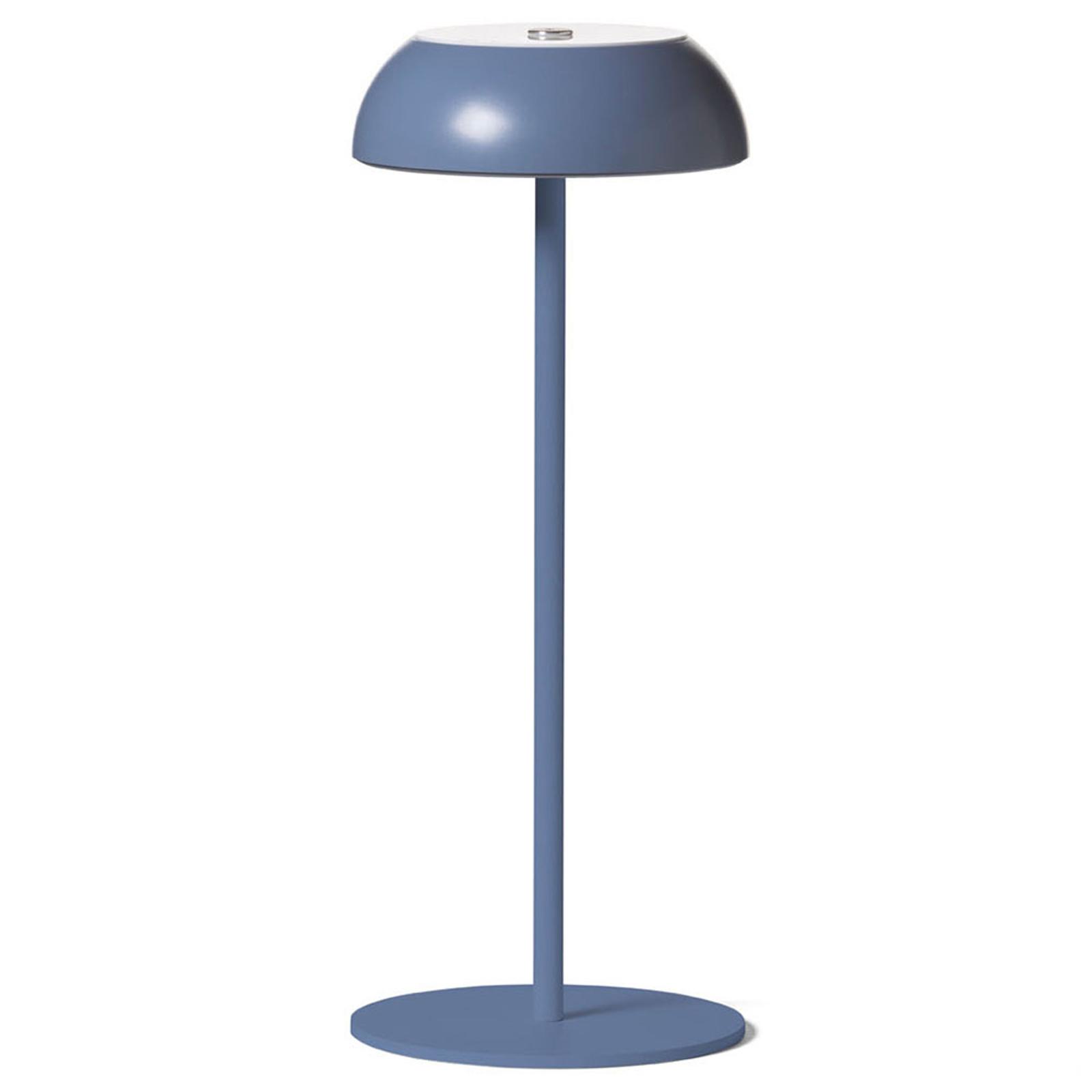 Axolight Float lámpara de mesa LED, azul
