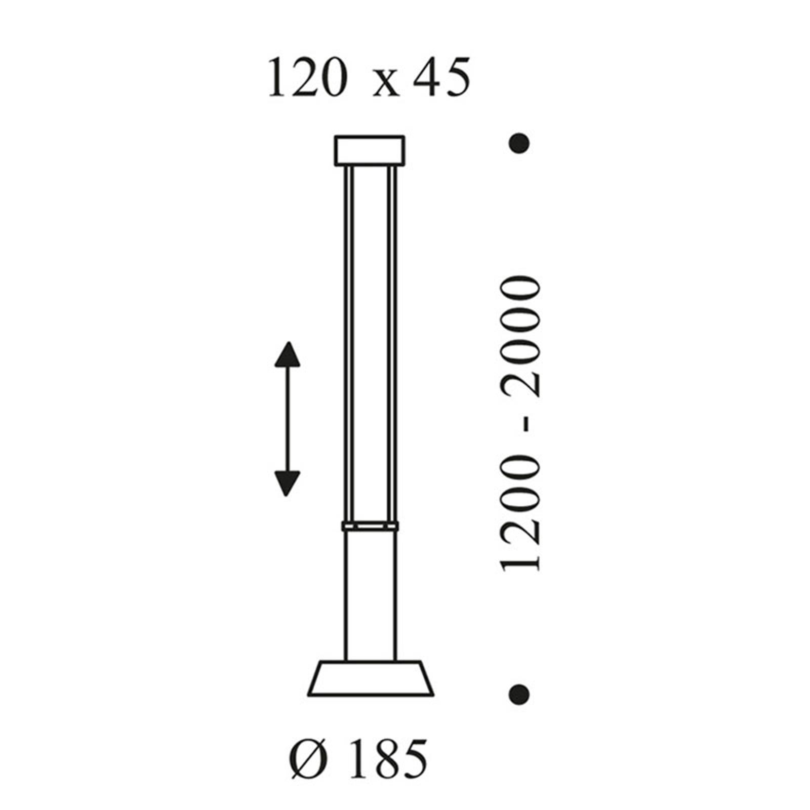OLIGO Glance sospensione LED 1 luce cashmere