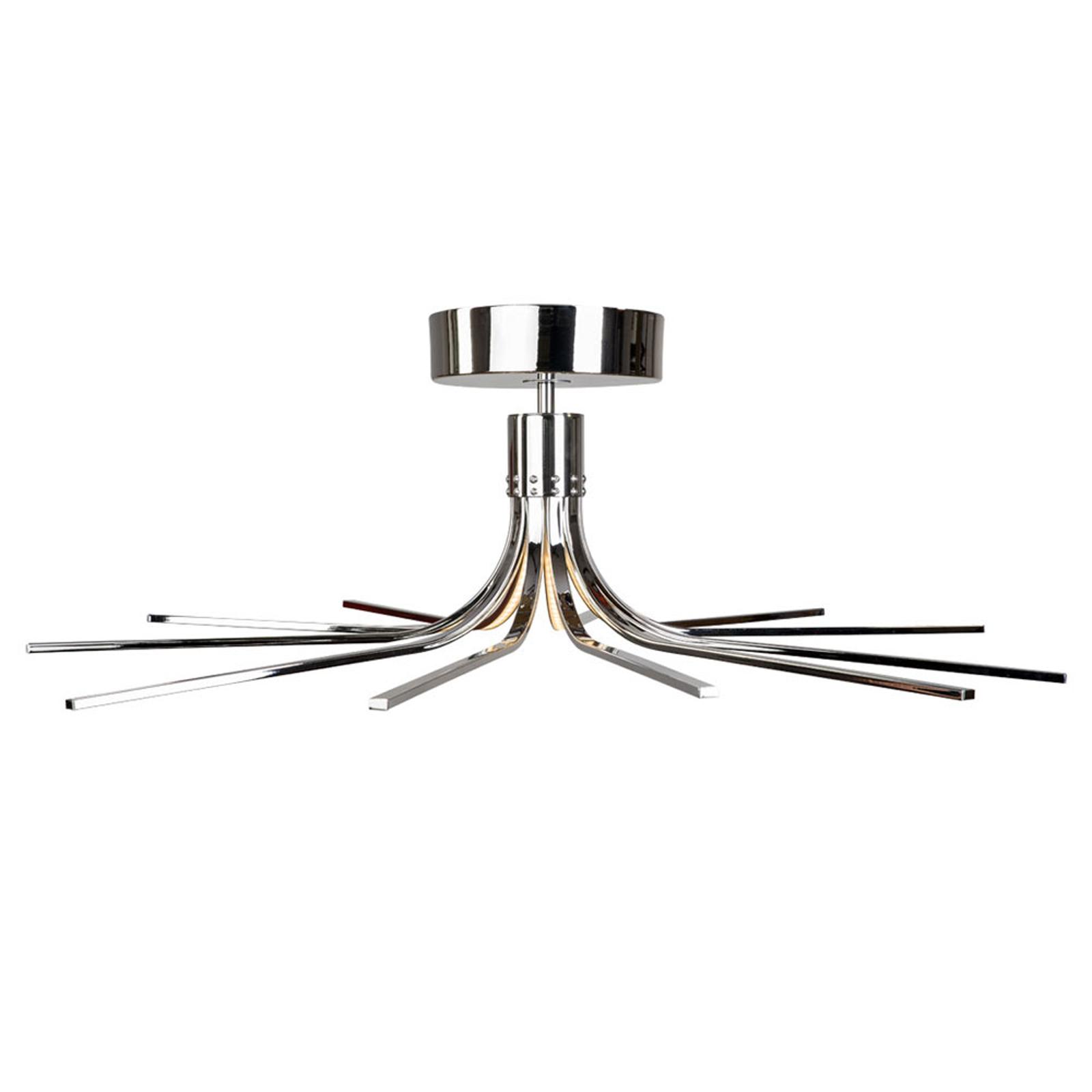 Lampa sufitowa LED Torino chrom Ø 78 cm