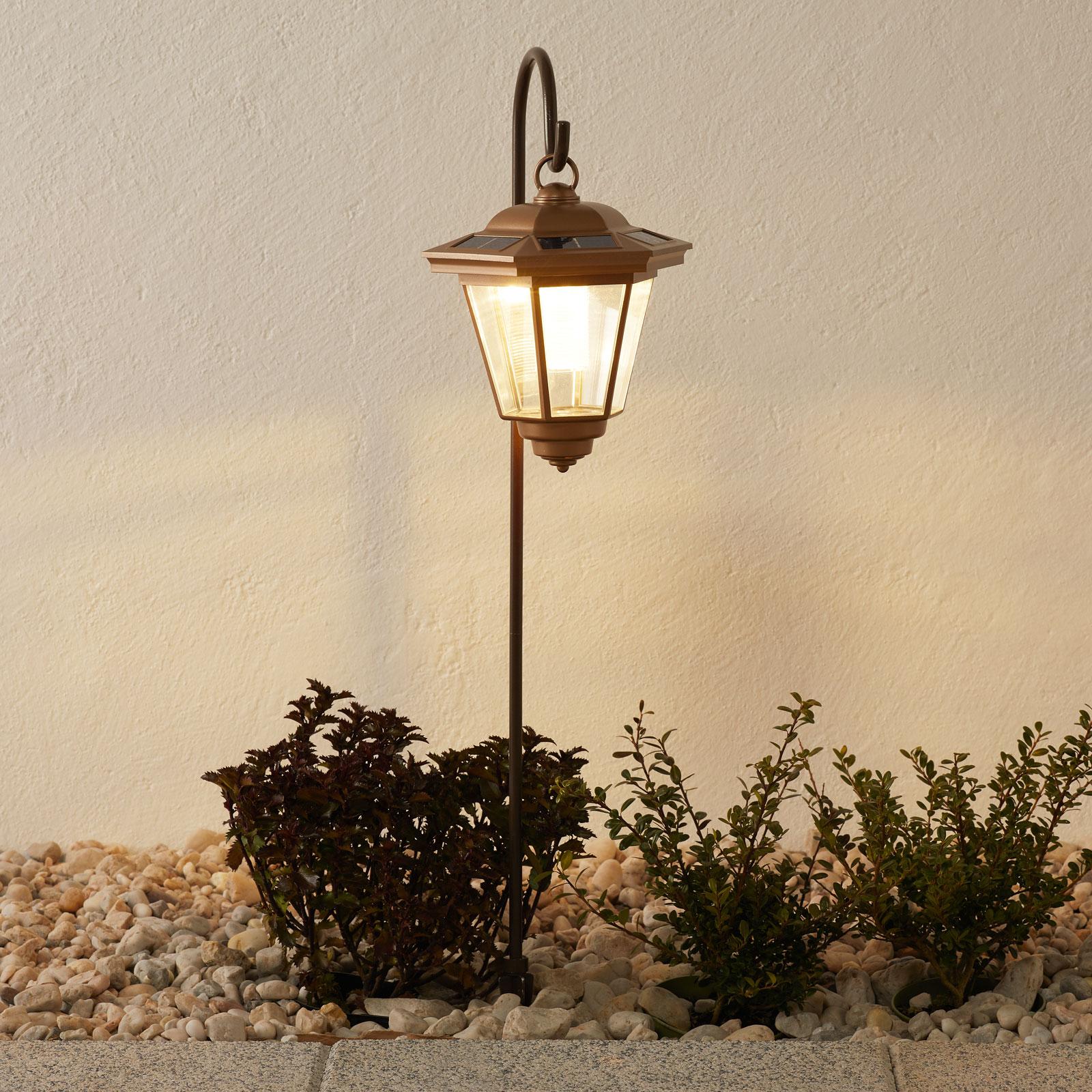 Solarna lampa wisząca LED TIVOLI